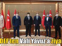 KADEF'ten Vali Yavuz'a ziyaret