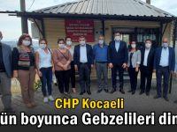 CHP, Gebze'de muhtarları ziyaret etti