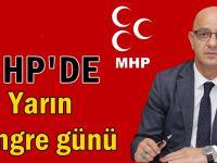 MHP'de yarın kongre günü