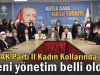 AK Parti İl Kadın Kollarında yeni yönetim belli oldu