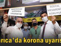 Darıca'da protokolden Korona uyarısı!