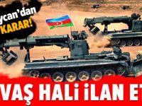 Azerbaycan, 'savaş hali' ilan etti!