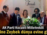 Milletvekili Emine Zeybek evlendi