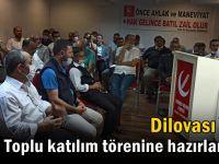 YRP Dilovası, toplu katılım törenine hazrılanıyor
