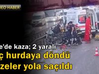 Gebze'de kaza; 2 yaralı