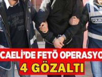 Kocaeli'de FETÖ operayonu!
