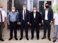 Büyükakın'dan Plastikçiler OSB'ye ziyaret