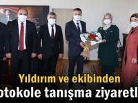 AK Parti Dilovası'ndan protokol turu