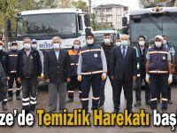 Gebze'de Temizlik Harekatı başladı!