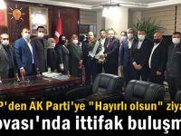 """MHP'den Yıldırım ve ekibine """"Hayırlı olsun"""" ziyareti"""