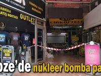 Gebze'de nükleer bomba paniği!