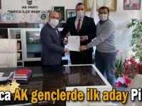 Darıca AK gençlerde ilk aday Pilavcı