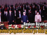 Başkan Büyükgöz'ün çevreci projeleri  Gebze'ye ödül getirdi