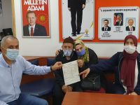 75 yaşında AK Parti'ye üye oldu
