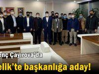 AK Genç Çayırova'da Özçelik'te başkanlığa aday!