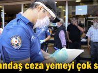 Koronavirüs tedbirlerine uymayan 235 kişiye para cezası