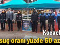 Kocaeli'de suç oranı yüzde 50 azaldı