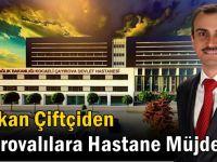 Başkan Çiftçi, Ankara'dan müjdeyle döndü