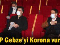 CHP Gebze'yi Korona vurdu!