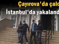 Kapkaççılar İstanbul'da yakalandı