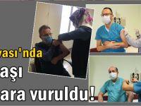Dilovası'nda ilk aşılar yapıldı