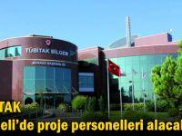 TÜBİTAK Kocaeli'de proje personelleri alacak