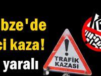 Gebze'de feci kaza! 10 yaralı
