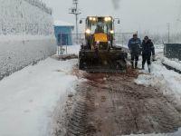 İSU ekipleri kar yağışında 24 saat görev yaptı