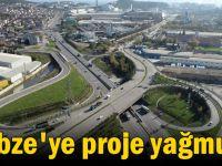 Gebze'de projeler hızla ilerliyor