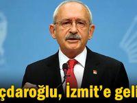 Kılıçdaroğlu, İzmit'e geliyor