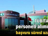TÜBİTAK'ın proje personeli alımında başvuru süresi uzatıldı
