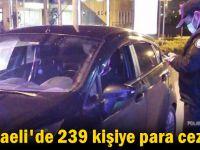 Kocaeli'de 239 kişiye para cezası!