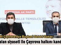 """Servet Günay, """"CHP yalan siyaseti ile Çayırova halkını yanıltıyor"""""""