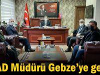 AFAD Müdürü Gebze'ye geldi!