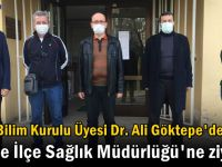 Bilim Kurulu üyesinden Gebze'ye ziyaret