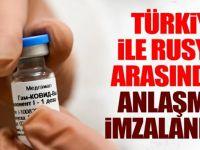 Türkiye ve Rusya arasında aşı anlaşması imzalandı