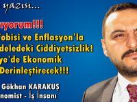 Uyarıyorum!!! Faiz Fobisi ve Enflasyon'la Mücadeledeki Ciddiyetsizlik! Türkiye'de Ekonomik Krizi Derinleştirecek!!!
