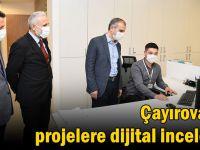 Çayırova'da projelere dijital inceleme
