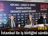 İMES OSB, Saha İstanbul ile iş birliğini sürdürüyor