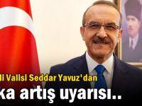 Kocaeli Valisi Seddar Yavuz'dan vaka artış uyarısı..