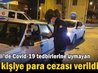 Kocaeli'de covid-19 tedbirlerine uymayan 383 kişiye para cezası verildi