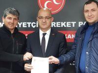 Saffet Kaplan CHP'den istifa edip MHP'ye geçti