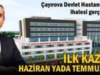 Çayırova Devlet Hastanesi'nin ihalesi yapıldı!