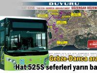 Gebze'den Darıca Millet Bahçesine otobüs seferi başlıyor