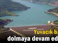 Yuvacık Barajı yükselmeye devam ediyor