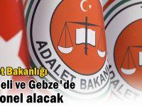 Adalet Bakanlığı Kocaeli ve Gebze'de personel alacak