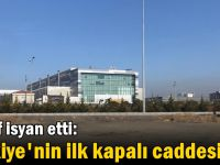 Esnaf isyan etti: Türkiye'nin ilk kapalı caddesi