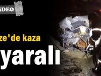 Gebze'de kaza 1 yaralı