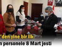Şayir'den yine bir ilk:Kadın personele 8 Mart jesti
