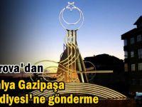 Çayırova'dan Antalya Gazipaşa Belediyesi'ne gönderme